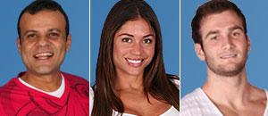 Daniel, Maria e Wesley estão na grande final do BBB; Diana sai (TV Globo)