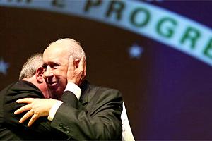 Ex-vice-presidente José Alencar morre aos 79 anos em SP (Ricardo stuckert/Presidência)