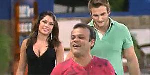 Pedro Bial anuncia: Daniel é o terceiro colocado do BBB11 (Reprodução de Vídeo/BBB)