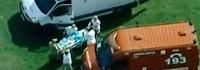 'Vi crianças feridas', relata funcionária (Globo News)