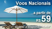 Passagens promocionais a partir de R$ 59,00. Confira (Reprodução)