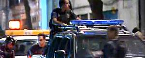 Polícia faz operação na Rocinha, no RJ (Reprodução)
