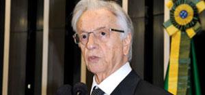 Ex-presidente Itamar Franco morre de câncer aos 81 anos (Ag. Senado)