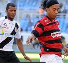 Fla segura o empate com o Vasco no Rio (Alexandre Vidal / Fla Imagem)