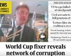 Jornal revela vídeo  de ex-dirigente da Fifa falando de subornos (Reprodução / The Sunday Times)