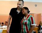 Fãs recebem Diego Cavalieri nas Laranjeiras (Cahê Mota / Globoesporte.com)