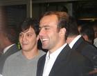 Roger admite surpresa ao receber prêmio (Rodrigo Fuscaldi / Globoesporte.com)