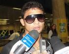 Elkeson afirma que postura fora de casa mostra força do time (Thiago Fernandes/Globoesporte.com)