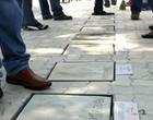 Calçada dos Craques é memória no PV (Diego Morais/Globoesporte.com)
