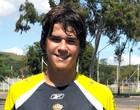 Goleiro Alisson, jogador da base do Internacional (Foto: Marcelo Campos / VIPCOMM)