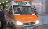 Ambulância Ricardo Gomes (Foto: Gustavo Rotstein/Globoesporte.com)
