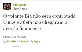 Twitter Thiago (Foto: Divulgação)