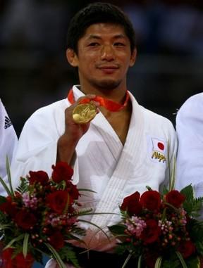 japonês Masato Uchishiba bicampeao olímpico judô ARQUIVO PEQUIM (Foto: Getty Images)