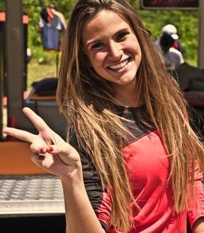 marcella nissental corrida azaração solteiros (Foto: Arquivo Pessoal)
