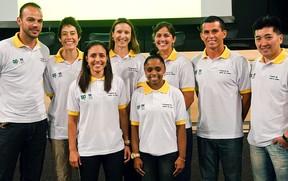 lançamento do programa de apoio ao atleta do COB (Foto: Sergio Huoliver / COB)