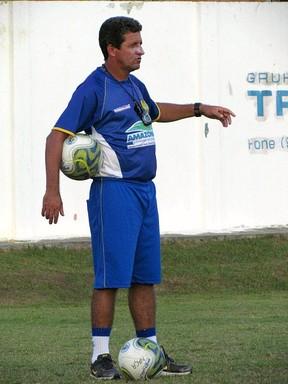 Técnico do Nacional, Uidemar Oliveira (Foto: Divulgação/Nacional)