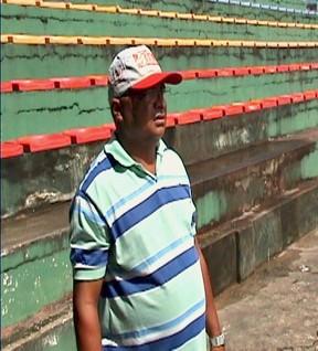 Sandomar Gusmão administrador do estádio Gilberto Mestrinho (Foto: Reprodução/TVAM)