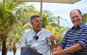 falcao e cerezo (Foto: Eric Luis Carvalho/Globoesporte.com)