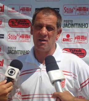 Celso Teixeira assume o Sergipe (Foto: CRB/Reprodução)