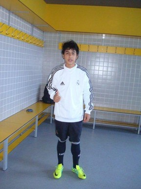 03 Real Madrid close in on 13 year old Brazilian wonderkid Luiz Henrique dos Santos