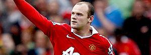 Rooney comemora gol do Manchester contra o West Ham