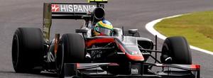 Bruno Senna Hispania treino livre GP do Japão Suzuka