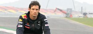 Mark Webber no GP da Coréia de F1