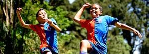 Santos convida os dois netos de Pelé para testes na Vila Belmiro (Marcos Ribolli / Globoesporte.com)