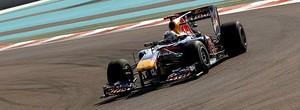 Vettel no treino em Abu Dhabi