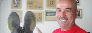 Sapateiro de Larri Passos é salvador na final da Masters Cup, em Lisboa (Alexandre Cossenza / Globoesporte.com)