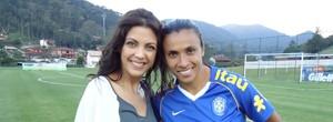 'EE de Bolsa' debate a vaidade entre as meninas da Seleção Brasileira (Raphael Andriolo)
