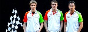 Di Resta e Sutil são confirmados como os pilotos da Force India (agência Reuters)