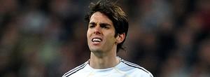Kaká sofre nova lesão no joelho esquerdo e fica fora por 15 dias após empate com o La Coruña (agência Getty Images)