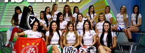 Veja a visita das musas eleitas (Juliana Ostrovski / Globoesporte.com)