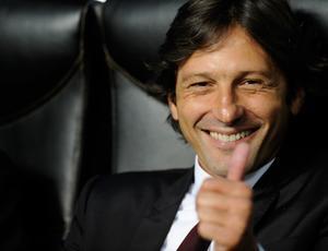 Leonardo fez sua última partida como técnico do Milan, contra o Juventus