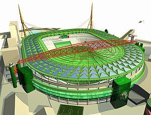 Projeto Arena Palestra Itália