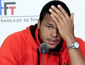 Tsonga em Roland Garros (Foto: AFP)