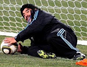 Maradona Argentina técnico goleiro (Foto: Reuters)