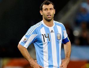 Mascherano Argentina X Alemanha (Foto: Reuters)
