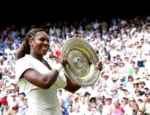 Serena Williams Wimbledon final troféu tênis