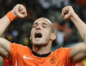 Sneijder Holanda (Foto: AFP)