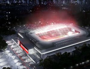 Arena da Baixada projeto copa 2014