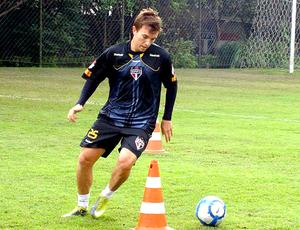 Dagoberto treino São Paulo