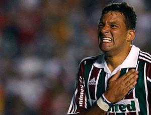 Washington comemora gol do Fluminense (Foto: Agência Estado)