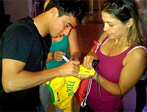 Rafael, do Manchester na sele&#231;&#227;o do Brasil (Foto: Reprodu&#231;&#227;o / Twitter CBF)