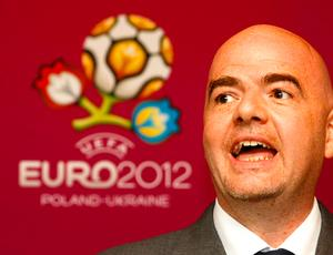 Infantino FIFA, inspeção Ucrânica Euro 2012