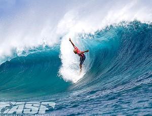 Surfe Kelly Slater nota 10 Mundial Taiti