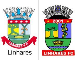 montagem escudo Linhares