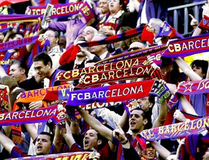 torcida do Barcelona