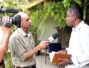 Andrade em entrevista ao Esporte Espetacular